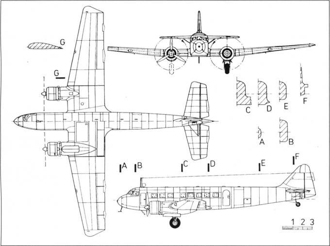 Пассажирские самолеты bloch m.b.220. франция