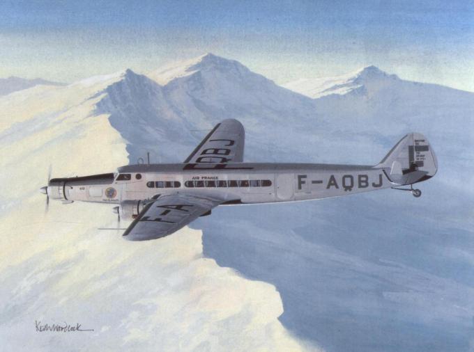 Пассажирские самолеты dewoitine d.332, d.333, d.338, d.342 и d.620. франция