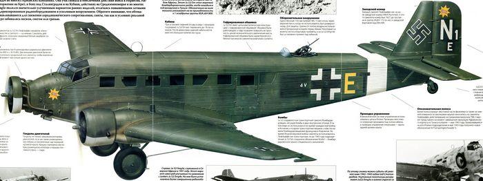 Пассажирские самолеты junkers ju 60 and ju 160. германия