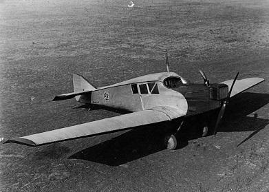 Пассажирский самолет junkers f-13 (пс-2).