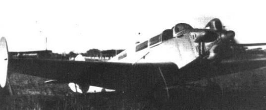 Пассажирский самолет лиг-4 «ленинградский комсомолец».