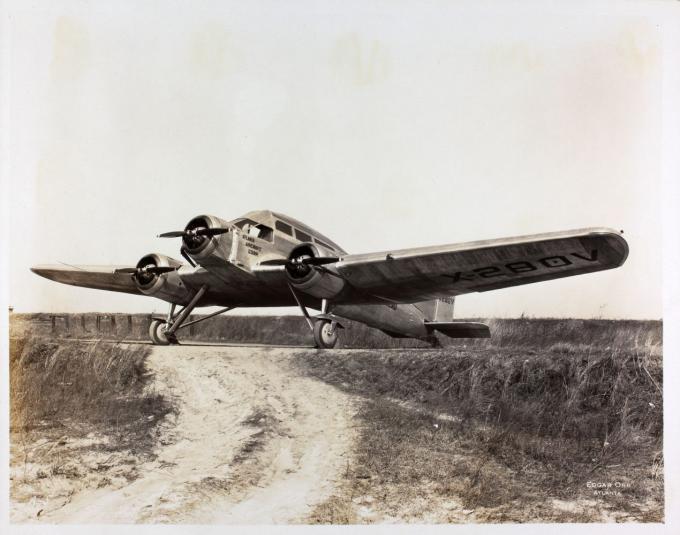 Пассажирский самолет prudden-whitehead. сша