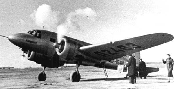 Пассажирский самолет пс-35 (ант-35).
