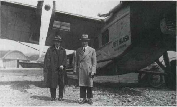 Пассажирский самолет rohrbach ro viii roland. часть 3