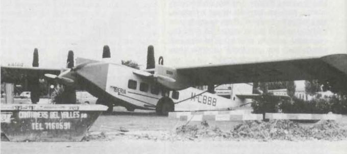 Пассажирский самолет rohrbach ro viii roland. часть 1