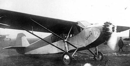 Пассажирский самолет сталь-2.