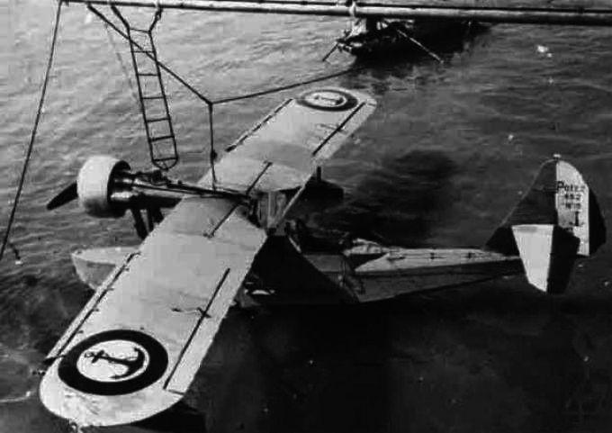 Патрульно-разведывательные летающие лодки potez 452. франция