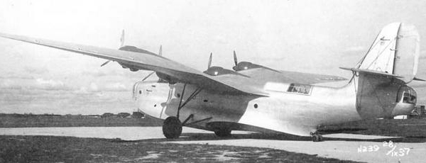 Патрульный самолет-бомбардировщик мтб-2 (ант-44).