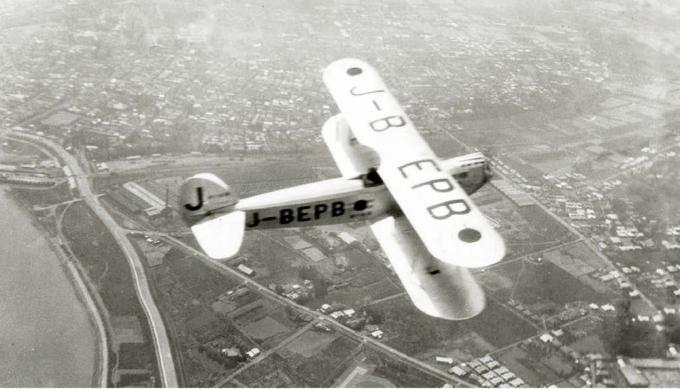 Перелет из токио в рим легкого самолета ishikawajima r-3 seinen nippon. часть 1
