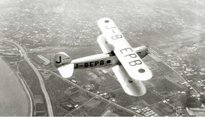 Перелет из токио в рим легкого самолета ishikawajima r-3 seinen nippon. часть 2