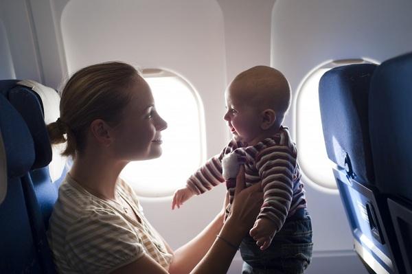 Перелет с грудным ребенком, длительный. советы