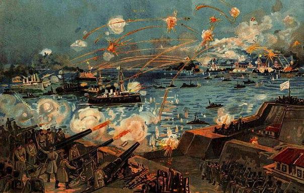 Первая русско-японская война. глава i - порт-артурская побудка (фан)
