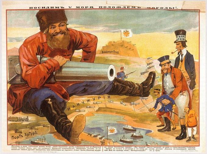 Первая русско-японская война. хронология (фан)