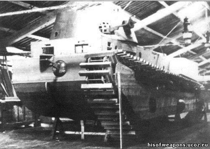 Первенец - тяжелый танк fcm 1a. франция