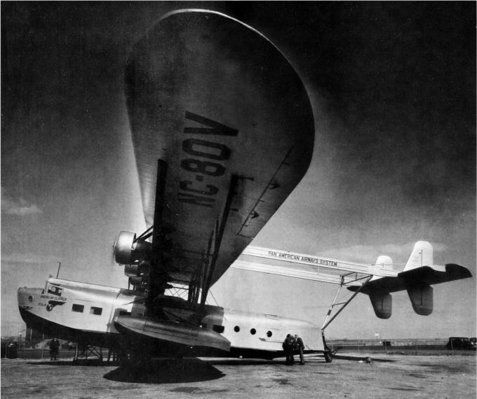 Первые крупные летающие лодки-«клиперы» для авиакомпании pan american. пассажирские летающие лодки sikorsky s-40. сша часть 2
