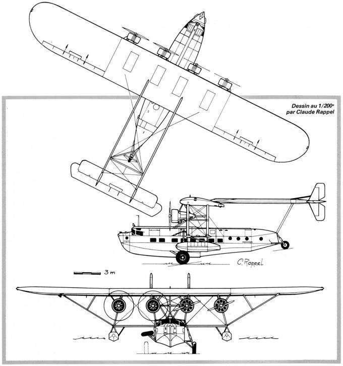 Первые крупные летающие лодки-«клиперы» для авиакомпании pan american. пассажирские летающие лодки sikorsky s-40. сша часть 1