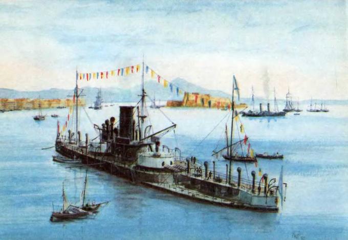 Первые русские эскадренные броненосцы (орлы отечества)