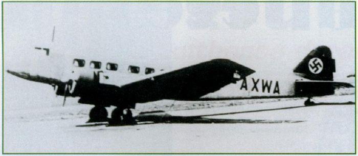 Первый самолёт, изначально разработанный как авиалайнер. пассажирский самолет b.a.t. f.k.26 commercial. великобритания