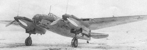 Пикирующий бомбардировщик ар-2.