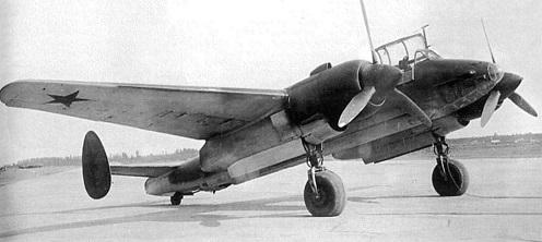 Пикирующий бомбардировщик ту-2 (самолет «103вс») .