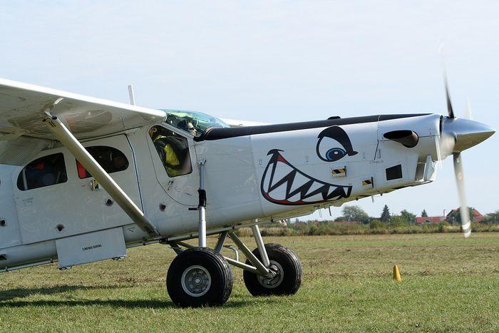 Pilatus p-3. технические характеристики. фото.