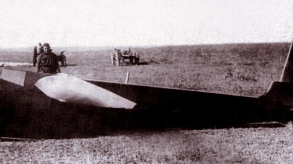 Пилотажный планер ск-3 «красная звезда».