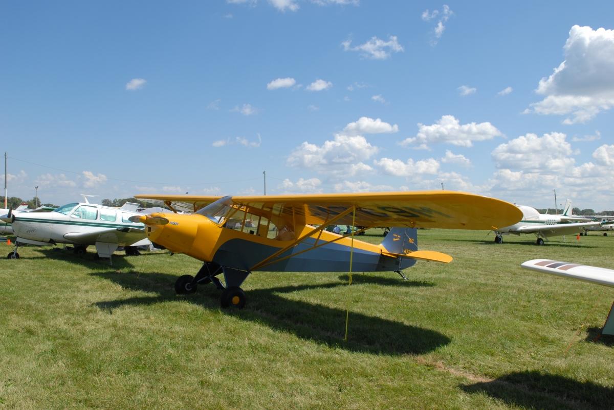 Piper pa-11 cub special. технические характеристики. фото