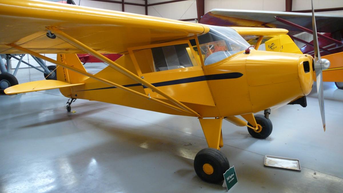 Piper pa-15 vagabond. технические характеристики. фото