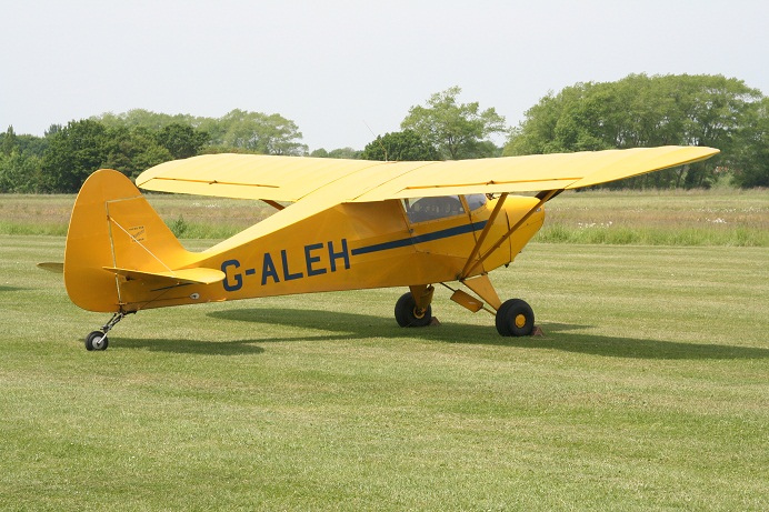 Piper pa-17 vagabond. технические характеристики. фото
