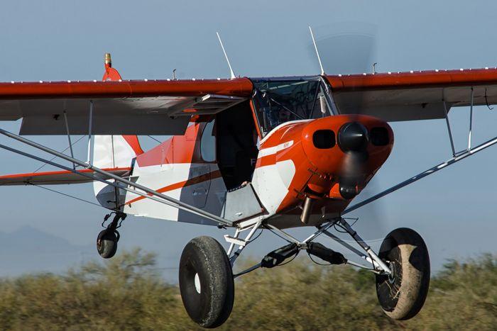 Piper pa-18 super cub. технические характеристики. фото