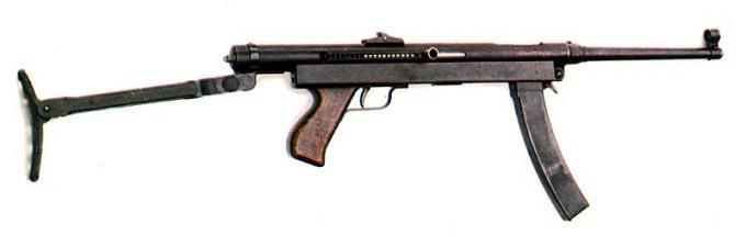 Пистолет-пулемет коровина