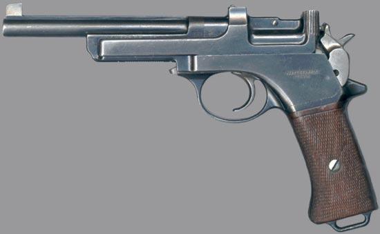 Пистолеты mannlicher m1901/m1905. австро-венгрия