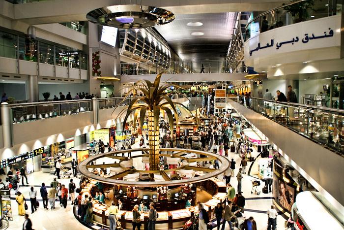 Пять лучших аэропортов мира для шоппинга.