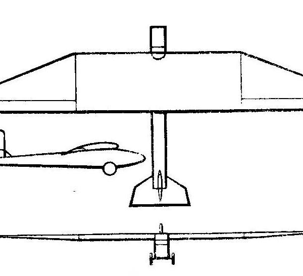 Планер авф-13 «ларионыч».
