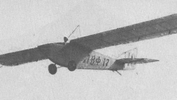 Планер авф-17 «одна ночь».