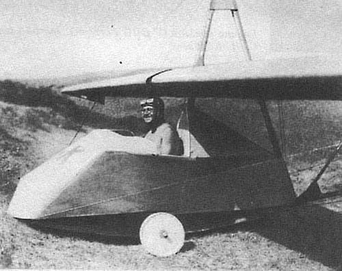 Планер авф-30 «кик».