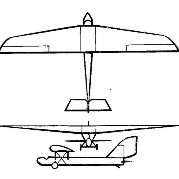 Планер авф-9 «красвоенлет денисов».