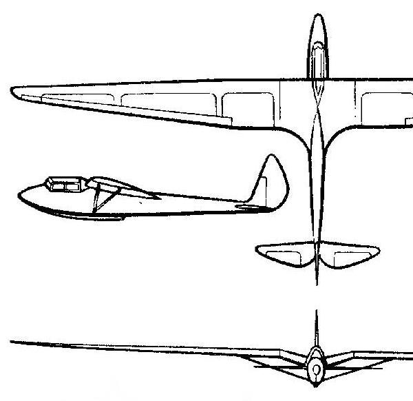 Планер дк-2.