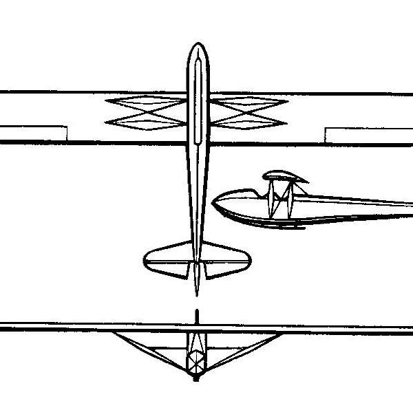 Планер э-3 (е-3).