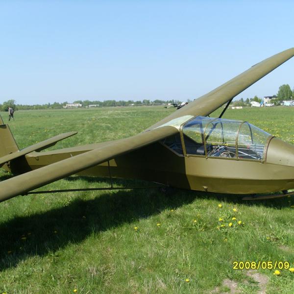 Планер каи-12 «приморец».