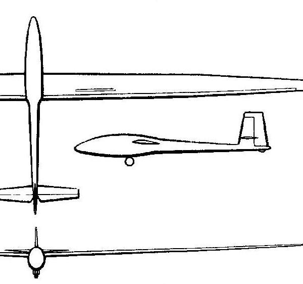 Планер «летува» бк-7.