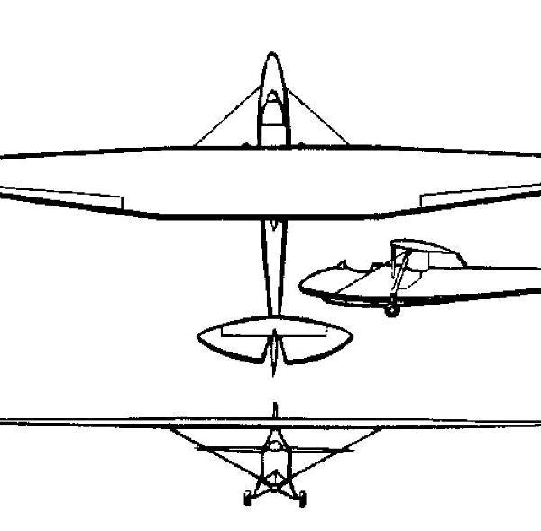 Планер онк-6.