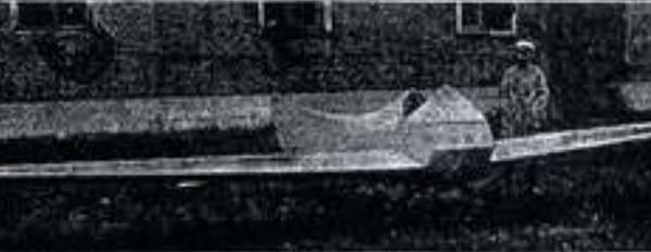Планер п-5 «буревестник».