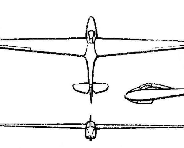 Планер паи-3.