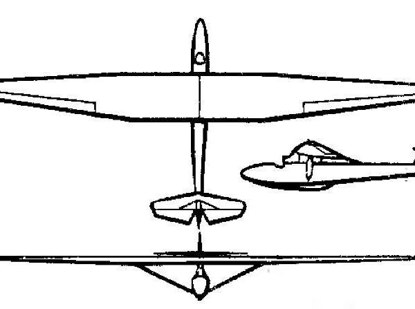 Планер «сталинец-2».