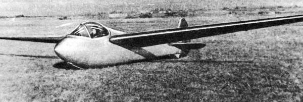Планер ва-3м «сокол».