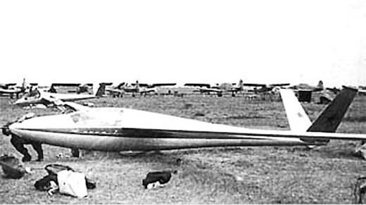 Планер «вега-2».