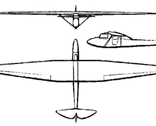 Планер з-2 «киров».