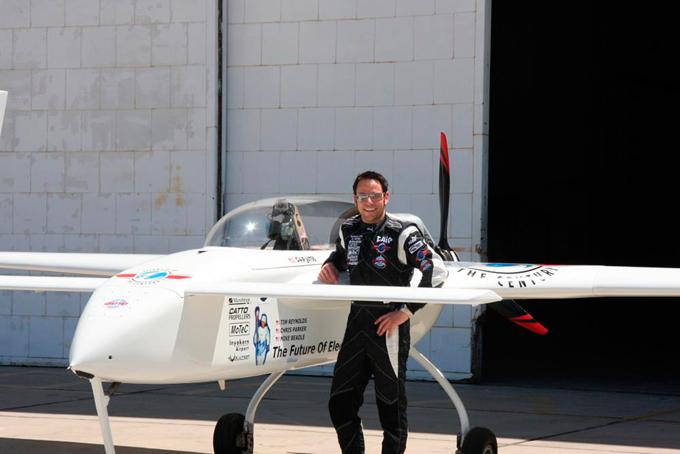 Планируется перелёт через атлантику на электро-самолёте