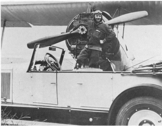 Почтовый самолет и самолёт для дальних перелетов vance flying wing. сша
